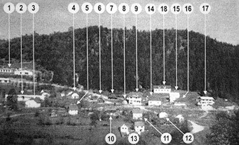 Slika stare Vežanje iz 70-tih godina XX veka