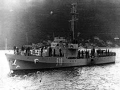 Patrolni brod PBR 512 (Žanjic, Montenegro)