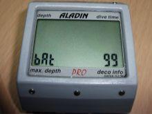 Zamena baterije na ronilačkom računaru UWATEC Aladin Pro